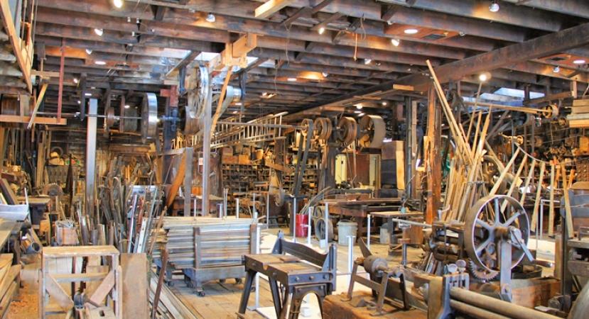 factory museum interior