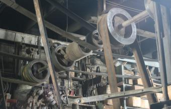 wheel and pully system