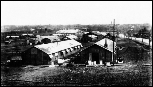 Air Service Buildings, 1st Air Depot, Colombey-les-Belle, Toul, France